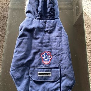 Size 22 Hooded Canada Pooch Dog Coat